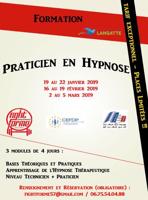 Formation certifiante hypnose ericksonienne lille paris strasbourg lyon marseille